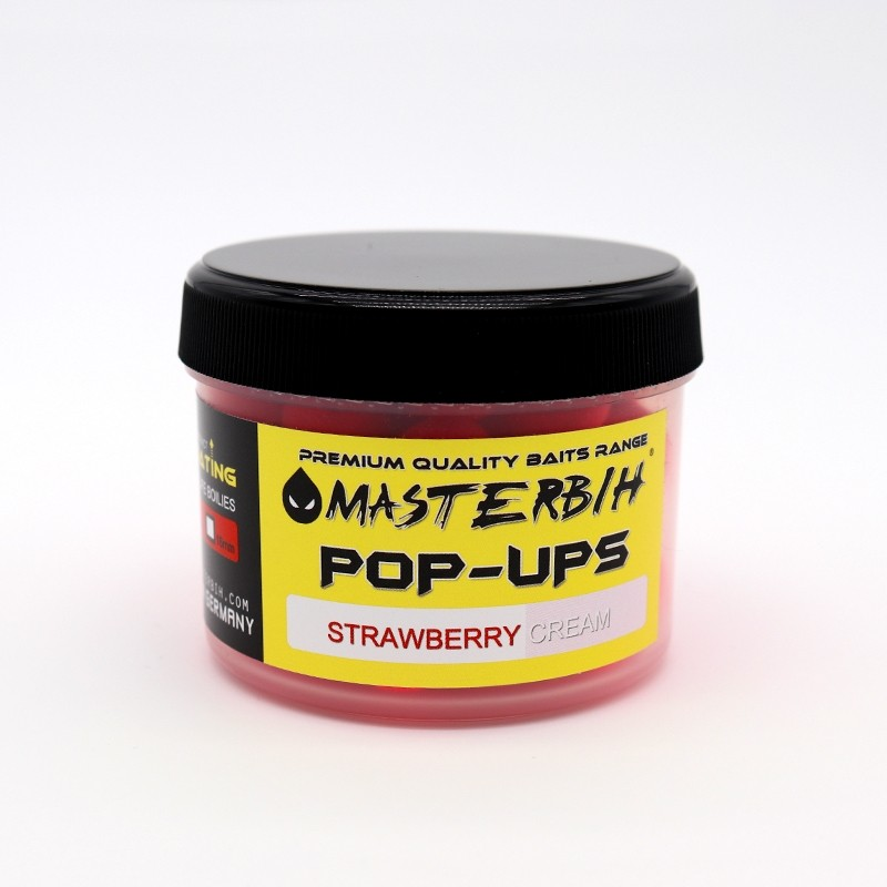 Masterbih Pop Ups Strawberry Cream 16mm
