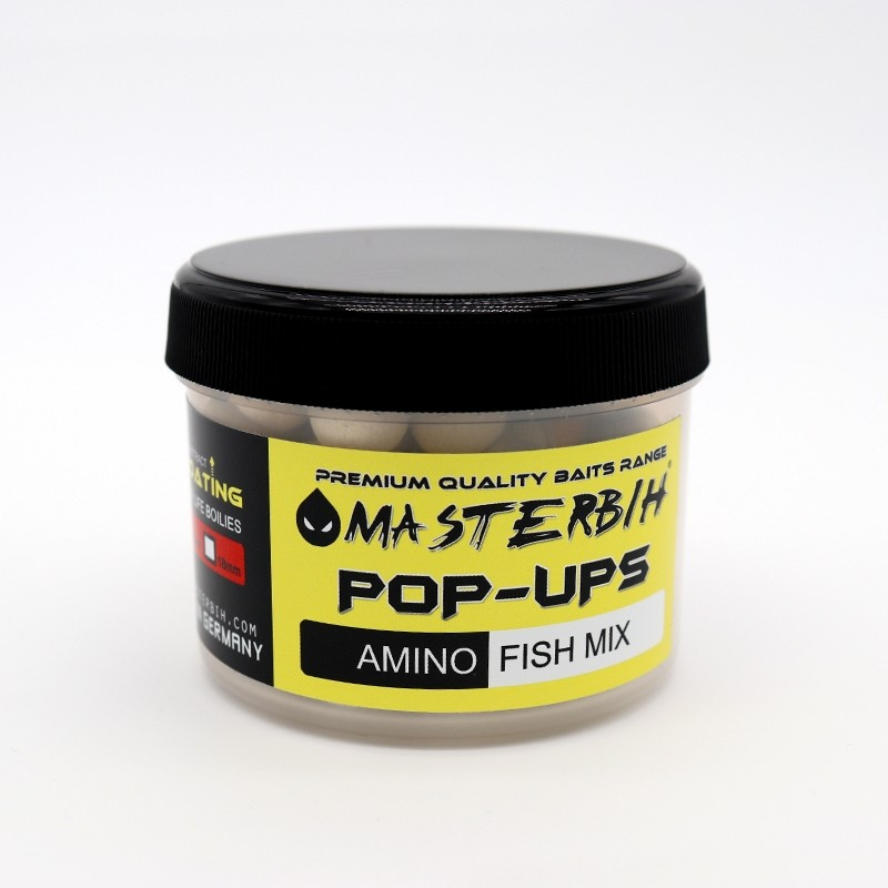 Masterbih Pop Ups Amino Fish Mix 10mm