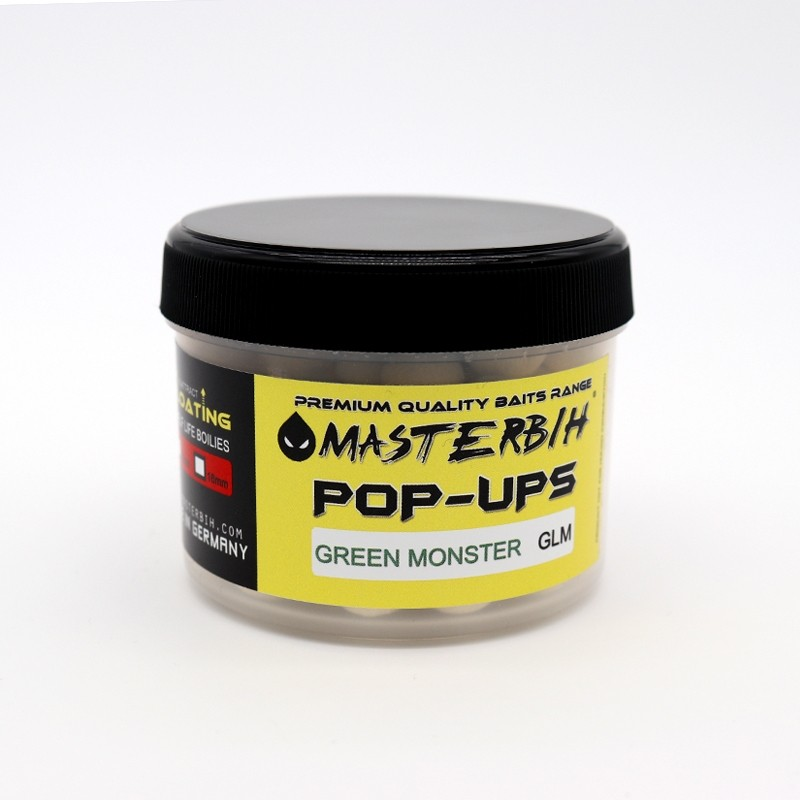 Masterbih Pop Ups Green Monster GLM 10mm