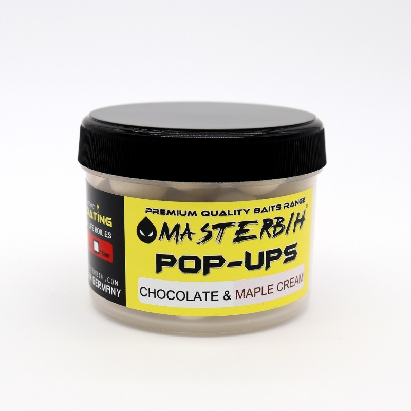 Masterbih Pop Ups Chocolate & Maple Cream 16mm