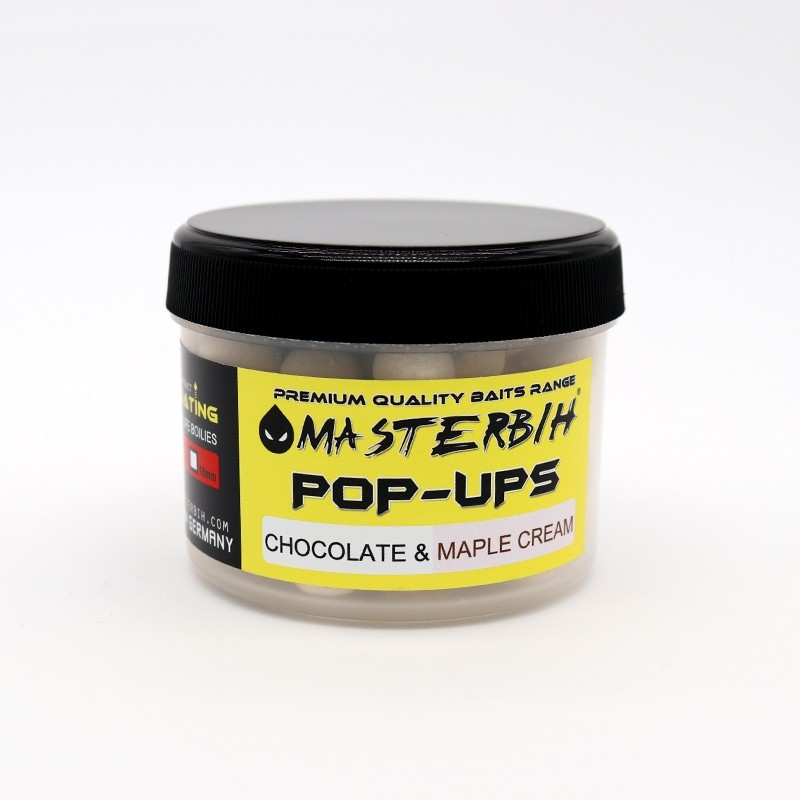 Masterbih Pop Ups Chocolate & Maple Cream 10mm