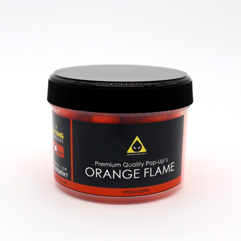 Masterbih Pop Ups Orange Flame 10mm