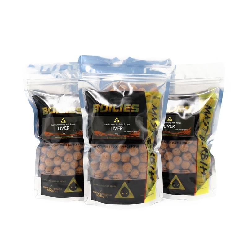 Masterbih Liver Boilies 16mm