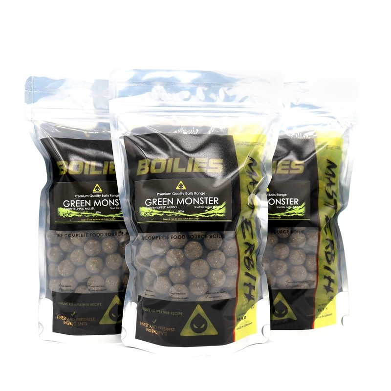 Masterbih Green Monster GLM Boilies 16mm