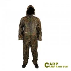 Carp Camo Rain Suit